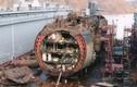 """Choáng ngợp quy trình """"xẻ thịt từng phần"""" tàu ngầm cũ của Nga"""