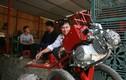 Nông dân Việt tự chế máy cày từ xe máy