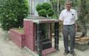 24 năm xây mộ thờ người cùng tên mình trước nhà