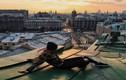 Thủ đô Moscow trong mắt người thích leo trên mái nhà