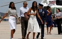 Loạt ảnh mới về hai cô con gái của Tổng thống Obama