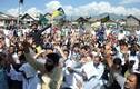 Hình ảnh biểu tình dữ dội tiếp diễn tại khu vực Kashmir
