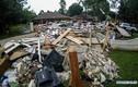 Cảnh tượng tan hoang sau cơn lũ lụt kinh hoàng ở Mỹ