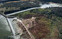 Hình ảnh đập Oroville ở California sắp vỡ nhìn từ trên cao