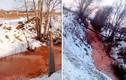 """Bí ẩn """"dòng sông máu"""" ở nước Nga"""