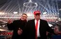 Chân dung người đóng giả ông Kim Jong-un và Tổng thống Trump tại Pyeongchang
