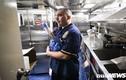 Chuyện ăn uống của sỹ quan tàu khu trục hộ tống USS Carl Vinson