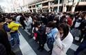Ảnh: Xúc động lễ tưởng niệm 7 năm thảm họa động đất ở Nhật Bản