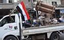 Quân đội Syria tiến vào tỉnh Quneitra, phiến quân lũ lượt sơ tán