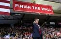 """Ông Trump vận động tranh cử tại biên giới Mỹ-Mexico với khẩu hiệu """"sốc"""""""