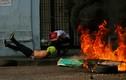 Toàn cảnh đụng độ dữ dội tại biên giới Venezuela-Colombia
