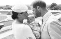 Phát sốt ảnh cận mặt con trai vợ chồng Hoàng tử Harry