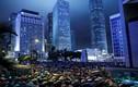 Hình ảnh hàng nghìn công chức biểu tình ở Hong Kong