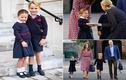 """Tiểu Công chúa Charlotte đáng yêu """"hết nấc"""" trong ngày đến trường"""