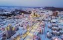 Choáng ngợp thị trấn mới hiện đại của Triều Tiên vừa được khánh thành