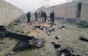 Thảm khốc hiện trường máy bay chở 170 người rơi ở Iran, không ai sống sót