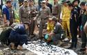 Rùng mình 288 khúc xương dưới ao gần nhà nghi phạm giết người ở Bangkok
