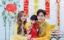 Thu Thuỷ và chồng trẻ kém 10 tuổi diện áo dài rực rỡ đón Tết ở Đà Lạt