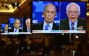 Ảnh: Ứng viên Tổng thống Mỹ Michael Bloomberg tranh luận trực tiếp trên truyền hình