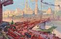Kinh ngạc viễn cảnh Moscow vào thế kỷ 23 qua bưu thiếp năm 1914