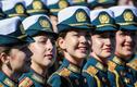 Vẻ đẹp nữ quân nhân Nga trong lễ duyệt binh mừng Ngày Chiến thắng