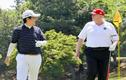 """Thủ tướng Abe và những lần """"ngoại giao sân golf"""" với Tổng thống Trump"""