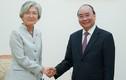 Chân dung Ngoại trưởng Hàn Quốc đang thăm Việt Nam