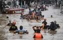 Toàn cảnh Philippines chạy đua cứu hộ sau khi bị bão Vamco tàn phá