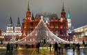Ảnh: Nước Nga trang hoàng lộng lẫy đón năm mới 2021
