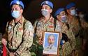 """Đoàn quân """"mũ nồi xanh"""" về từ Nam Sudan"""