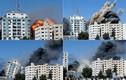 Cận cảnh tòa nhà đặt văn phòng AP ở Gaza bị Israel san phẳng