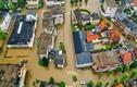 """Ảnh: Hà Lan """"chìm trong biển nước"""" vì mưa lũ, hàng nghìn người sơ tán"""