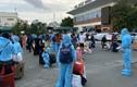 """Đoàn tàu """"đặc biệt"""" đưa 700 người dân Hà Tĩnh từ TP Hồ Chí Minh về quê"""