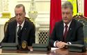 """""""Điểm"""" nguyên thủ quốc gia hành động """"lạ"""" như Tổng thống Thổ Nhĩ Kỳ"""