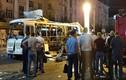 Video: Xe buýt bất ngờ nổ tung giữa đường ở Nga, nhiều thương vong
