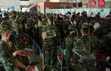 Hình ảnh gần 300 bác sĩ, học viên quân y vào TP.HCM chống dịch