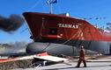 Video: Những con tàu khổng lồ được hạ thủy như thế nào?