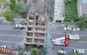 Khách sạn 7 tầng bất ngờ đổ sập giữa đường trước mắt người dân
