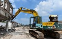 Ảnh: Nhà máy dệt Nam Định đã bị san phẳng gần hết