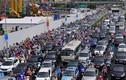 Ảnh: Hầm chui nghìn tỷ tắc kinh hoàng sau mưa lớn ở Hà Nội