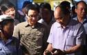 Chùm ảnh: Thủ tướng thị sát chợ Long Biên lúc sáng sớm