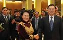 Ảnh Chủ tịch Quốc hội đón Đoàn đại biểu cấp cao Trung Quốc