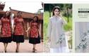 Tranh cãi mốt áo dài kết hợp váy xòe giới trẻ diện Tết