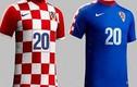Ngắm mẫu áo của 32 đội tuyển tham dự World Cup 2014