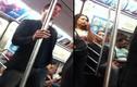 Ngôi sao Holywood nhường ghế cho phụ nữ trên tàu điện ngầm