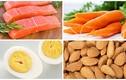 10 thực phẩm dễ tìm tốt cho mắt trẻ đi học