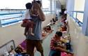 Thảm cảnh ở Bệnh viện Nhi Đồng ngày nắng nóng