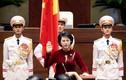 Những bộ áo dài của Chủ tịch Quốc hội Nguyễn Thị Kim Ngân
