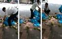 """Thực hư """"tắm"""" hóa chất cho dừa xiêm trên phố Hà Nội"""