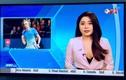 """Nữ MC VTV gây tranh cãi vì mặc """"xẻ sâu"""" trên sóng truyền hình"""